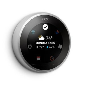 $178Nest 3rd Generation Learning Thermostat Stainless Steel