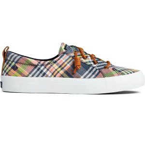 Crest Vibe Washed Plaid Sneaker