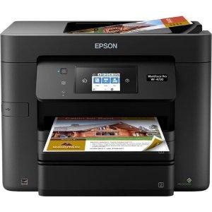 $99.99 (原价$199.99)Epson WorkForce Pro WF-4730 无线多功能打印机