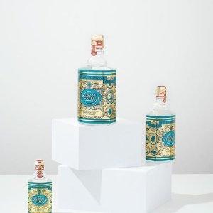 $45(原价$59)5种经典香味4711 源于德国的经典古龙水 瓶身设计复古、贵族感极强
