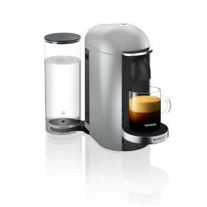 Vertuo Plus 咖啡机 银色 圆顶