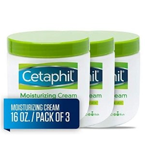 $31.15 针对干性和敏感型肌肤Cetaphil 深层保湿润肤霜 453g 3瓶装