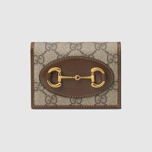 Gucci 1955 Horsebit 卡包 小钱包