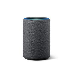 AmazonAll-new Echo (3rd Gen)- Smart speaker with Alexa- Charcoal