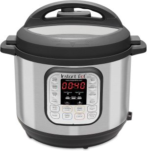 Instant Pot Duo 60 7-in-1 Electric Pressure Cooker, Slow Cooker, Rice Cooker, Steamer, Saute, Yogurt Maker, and Warmer