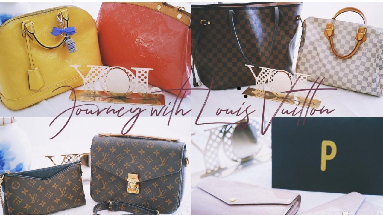 Journey with Louis Vuitton - 陪伴我成长的路易·威登手袋包