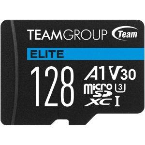 $12.99Team Elite 128GB U3 A1 V30 microSD