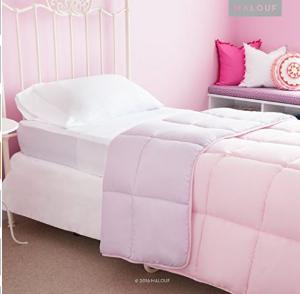 $47.61(原价$194.99)MALOUF全系列豪华双面仿羽绒被床上用品6件套(Full)