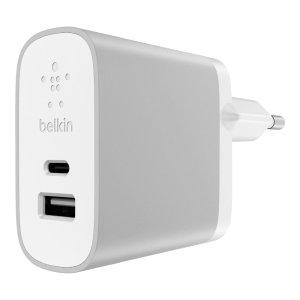 Belkin 贝尔金 USB-C USB双接口快速充电器 3.7折特价