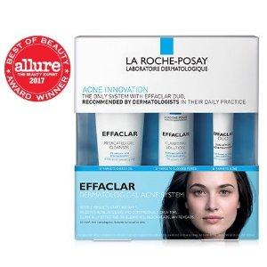 La Roche-Posay满$50享7.5折祛痘套装