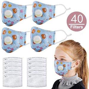 N95 级别儿童防护口罩 5个装