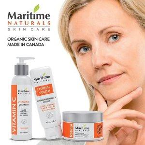 $25.49起Maritime Naturals 加拿大本土护肤品热卖  补水修护抗衰老