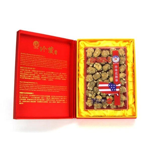 珍珠参中号锦缎礼盒