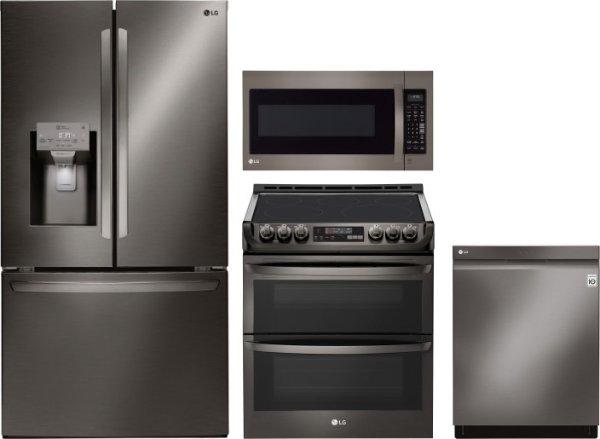 LG 厨房家电4件套