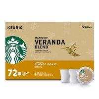 Starbucks Veranda 黄金烘焙 k cup 咖啡胶囊72颗