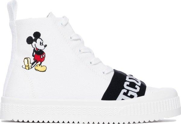 Mickey Mouse 高帮厚底鞋