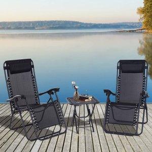 8.5折 可折叠咖啡桌$12.7Rona 庭院家具促销 庭院休闲椅$21  餐桌椅7件套$339