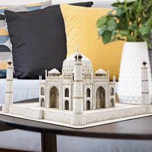 6折 $11.89起CubicFun 多款3D拼图特价,旧金山、泰姬陵等都参加