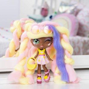 $26.99 自己动手染头发Candylocks 360度满足的你娃娃造型梦 柠檬味的洋娃娃