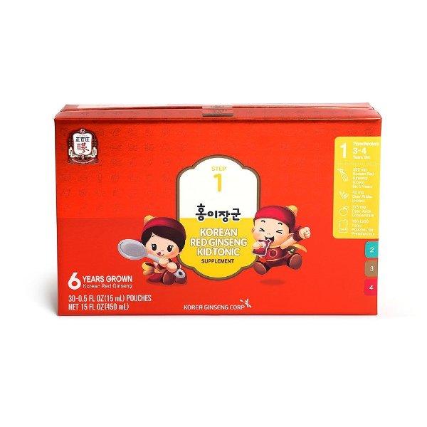 红儿将军一阶段 儿童营养补充剂 (Ages 3 - 4) 15ml x 30