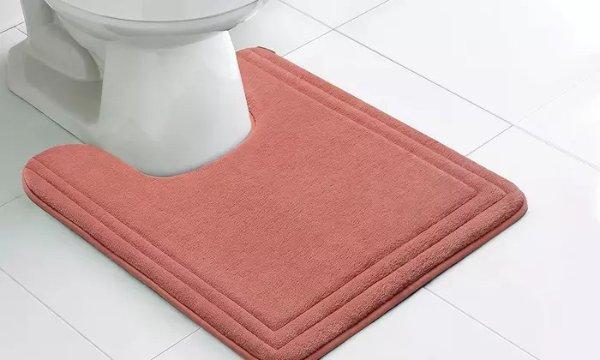 速干记忆棉防滑浴室垫