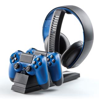 $9.99 (原价$19.99)PowerA PS4 手柄+耳机充电基座