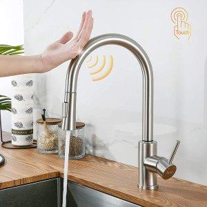 8折! 仅€69.99入手Synlyn 感应式水龙头 操作方便轻触出水 180s省水保护