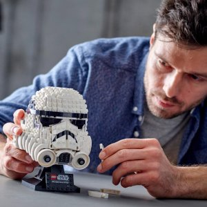 Amazon LEGO Star Wars Helmet
