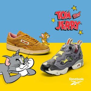亲子鞋穿起来Reebok Tom and Jerry系列服饰、鞋履已发售