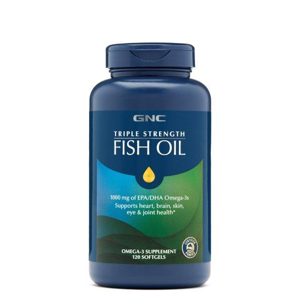 三倍强效鱼油 60粒