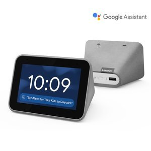 $99(原价$129)Lenovo 智能闹钟 支持Google Assistant