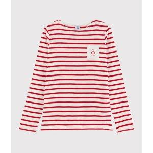 Petit Bateau条纹长袖