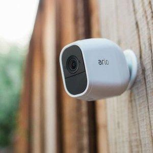 $139.99 (原价$249.99)史低价:NETGEAR Arlo 家庭安全监控系统摄像头