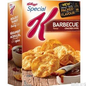 $2.99收饼干脆片Kellogg's 低脂零食热卖  香香脆脆 简易快速早餐get