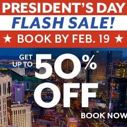 Up to 50% OffLas Vegas President's Day Sale