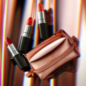 Last Day: Enjoy 20% offwith lipstick purchase @ MAC Cosmetics