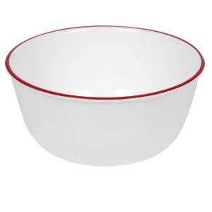 Corelle Red Band 28盎司碗