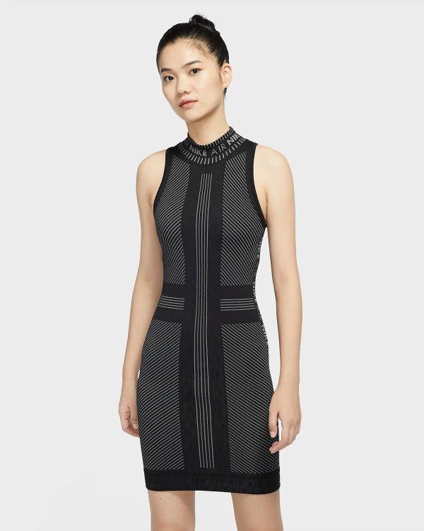 设计感修身连衣裙