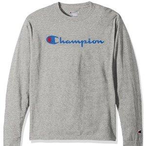 $19.21起 多色可选Champion LIFE 男款Logo纯棉运动上衣 好价收啦