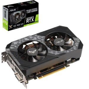 $299.99 送NVIDIA 2游戏礼包ASUS TUF Gaming RTX2060 O6G GAMING 显卡