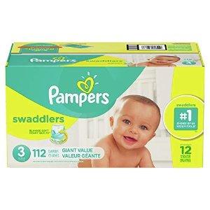 Pampers 3段超柔纸尿裤 112个