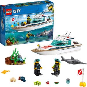 $18.98(原价$24.99)LEGO城市系列60221大潜水艇 148片积木 含两个人仔