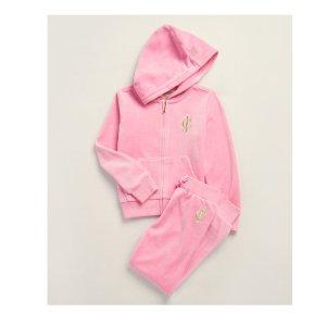 低至1.4折+任意单品额外7.5折Juicy Couture儿童服饰上新大促 毛毛套装好价收