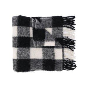AMI PARIS格纹围巾