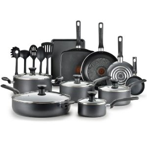 T-fal Easy Care Nonstick Cookware, 20 piece Set
