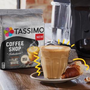 40杯拿铁仅€16 可囤货Tassimo 咖啡胶囊 早起傻一天 来杯美式提提神 今天也要加油鸭