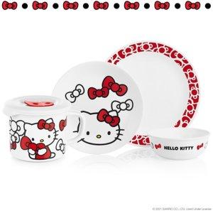 $15起上新:Corelle 康宁 x Hello Kitty 餐具上市