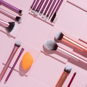 6.6折起 美妆蛋低至平价€3.34/个Real Techniques 平价彩妆工具 超值收化妆刷、美妆蛋