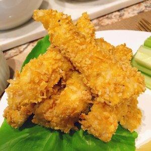不用一滴油 减脂增肌美食无油低脂香烤脆皮燕麦/玉米片鸡胸肉