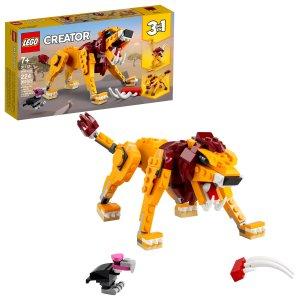 Lego创意百变系列 野狮 31112